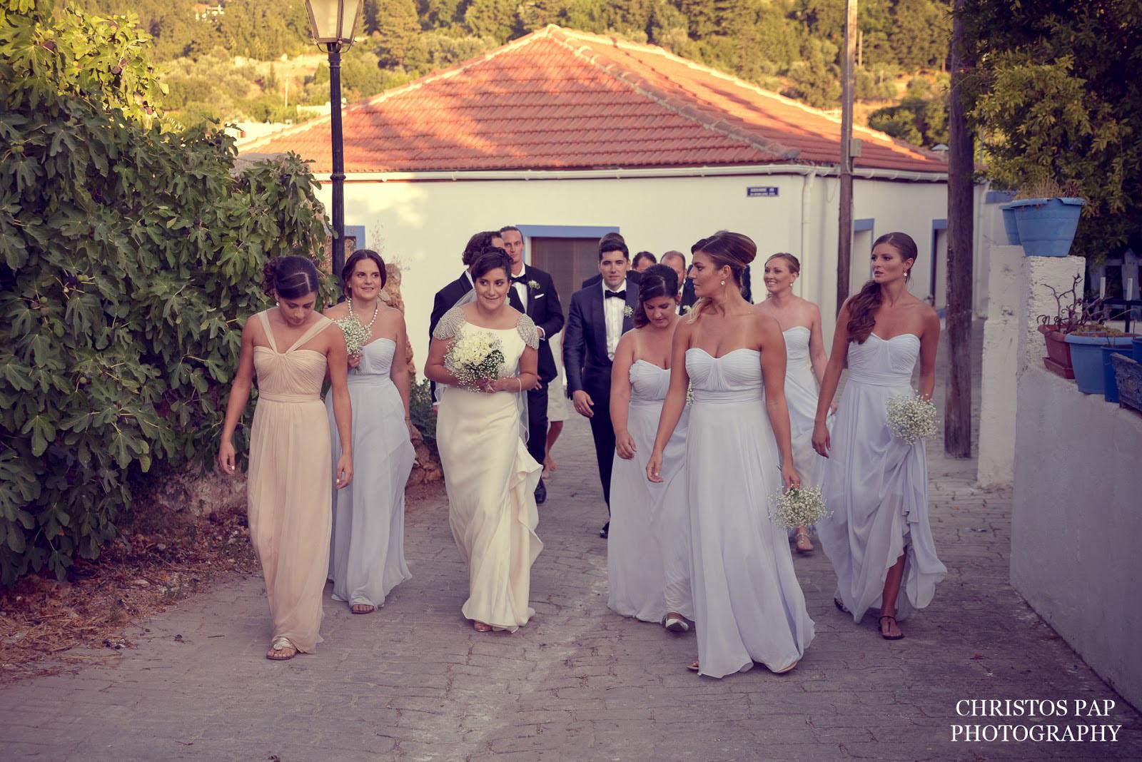 Greek American wedding in Kos island