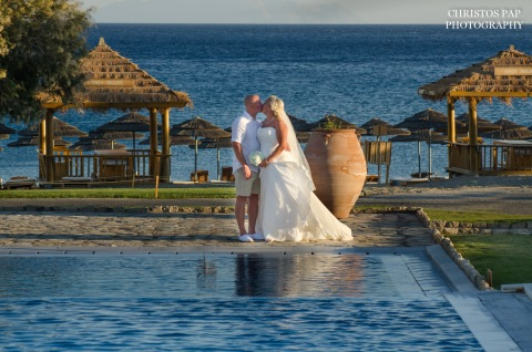 Wedding at Mitsis Blue Domes Resort