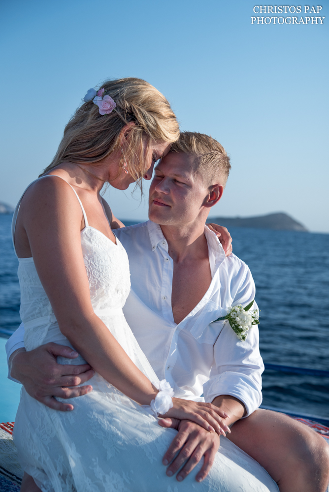 Wedding in Telendos island