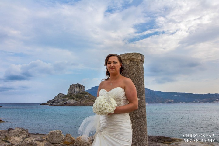 Wedding at Kastri island