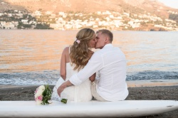 Wedding photographer in Telendos island