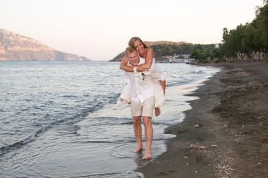 Amazing wedding photograph in Greece