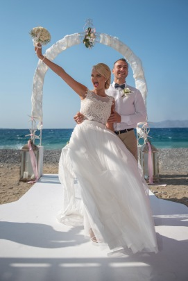 Wedding at Kipriotis Village hotel