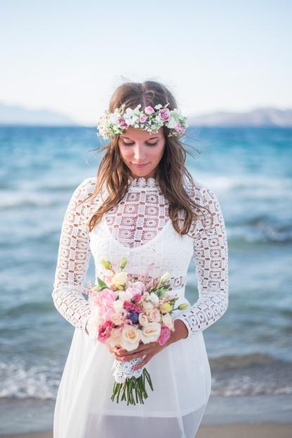 Photographer in Greece in Santorini