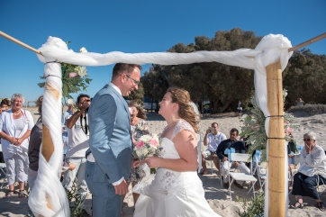 Wedding at Tigaki Beach in Kos