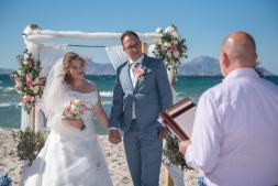 Wedding at Tigaki Beach in Kos