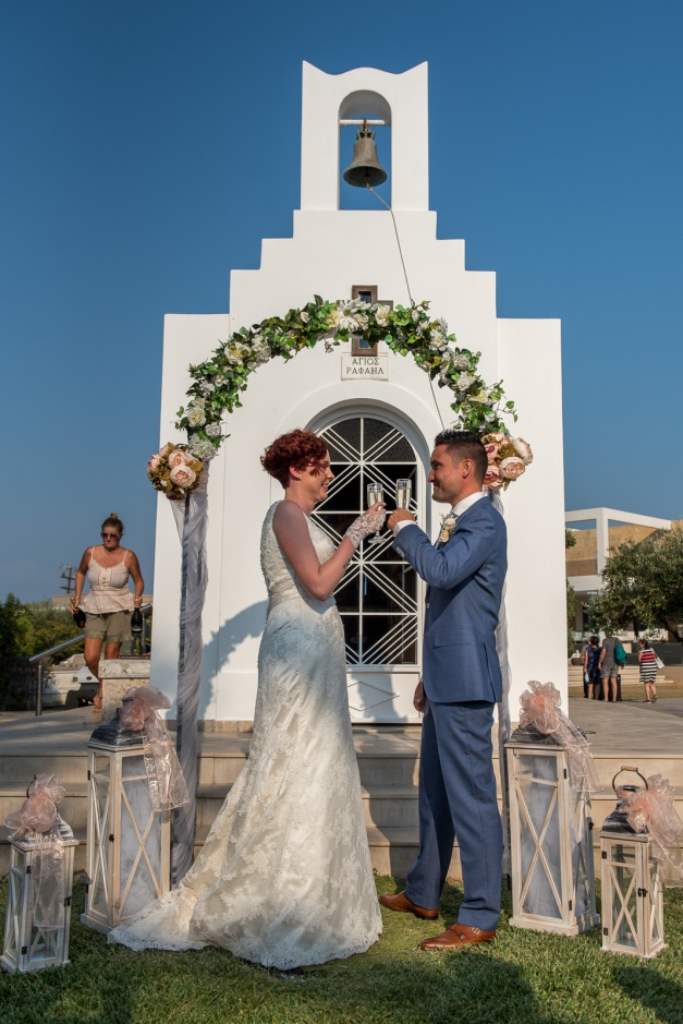 Wedding at Pelagos Suites