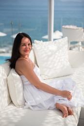 Photo session in Santorini