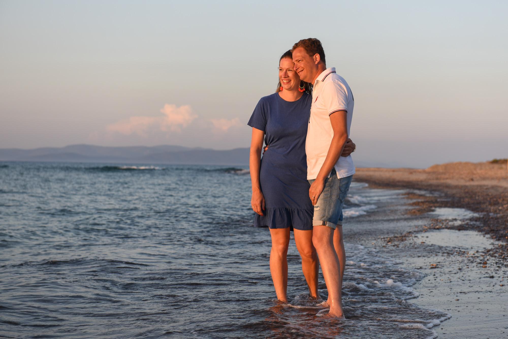 couple photo session on Kos island