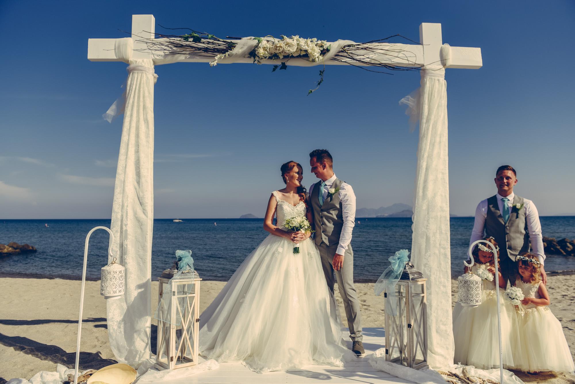 Wedding at Atlantica Hotel, photographer in Kos