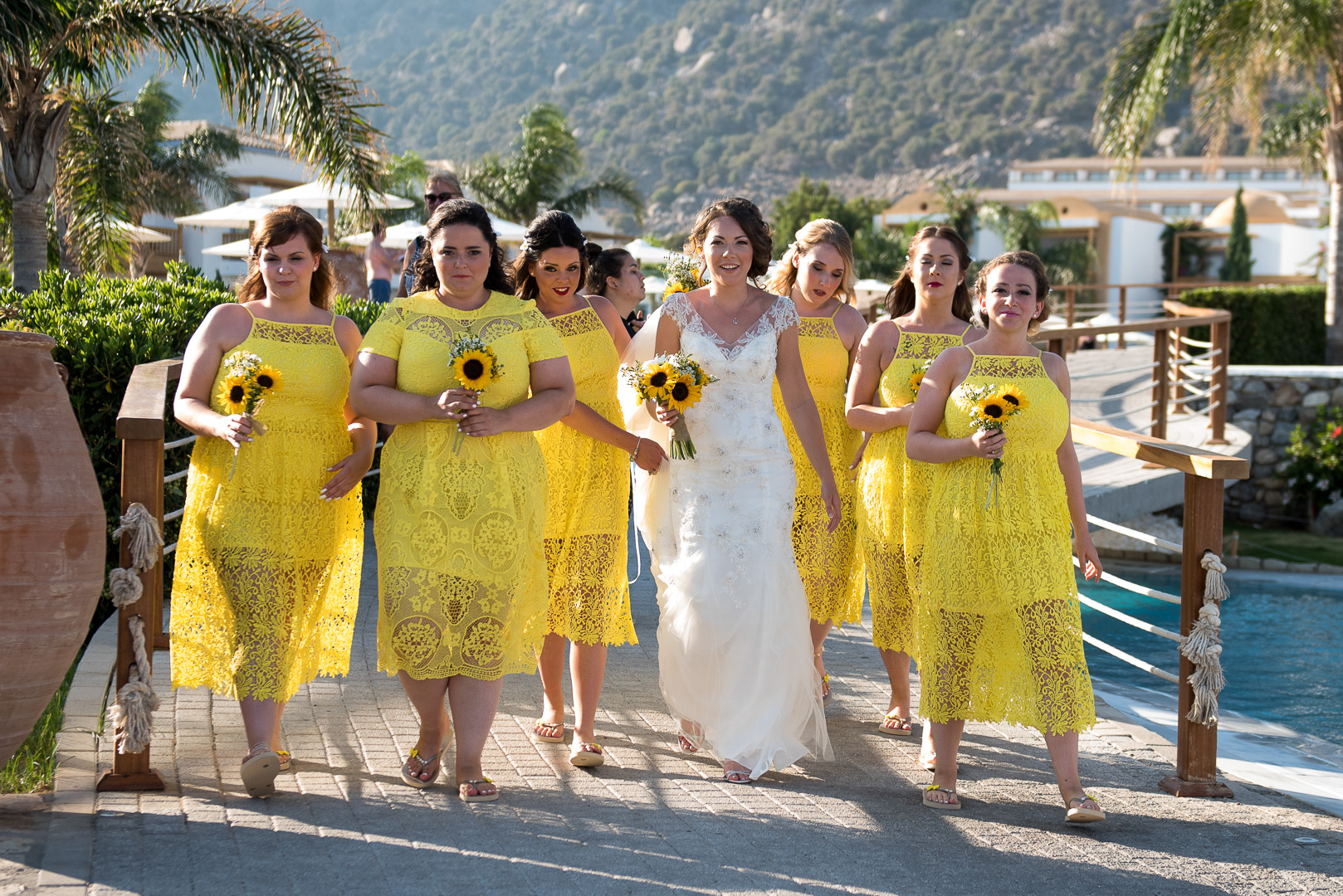 Amazing photo of wedding in Greece
