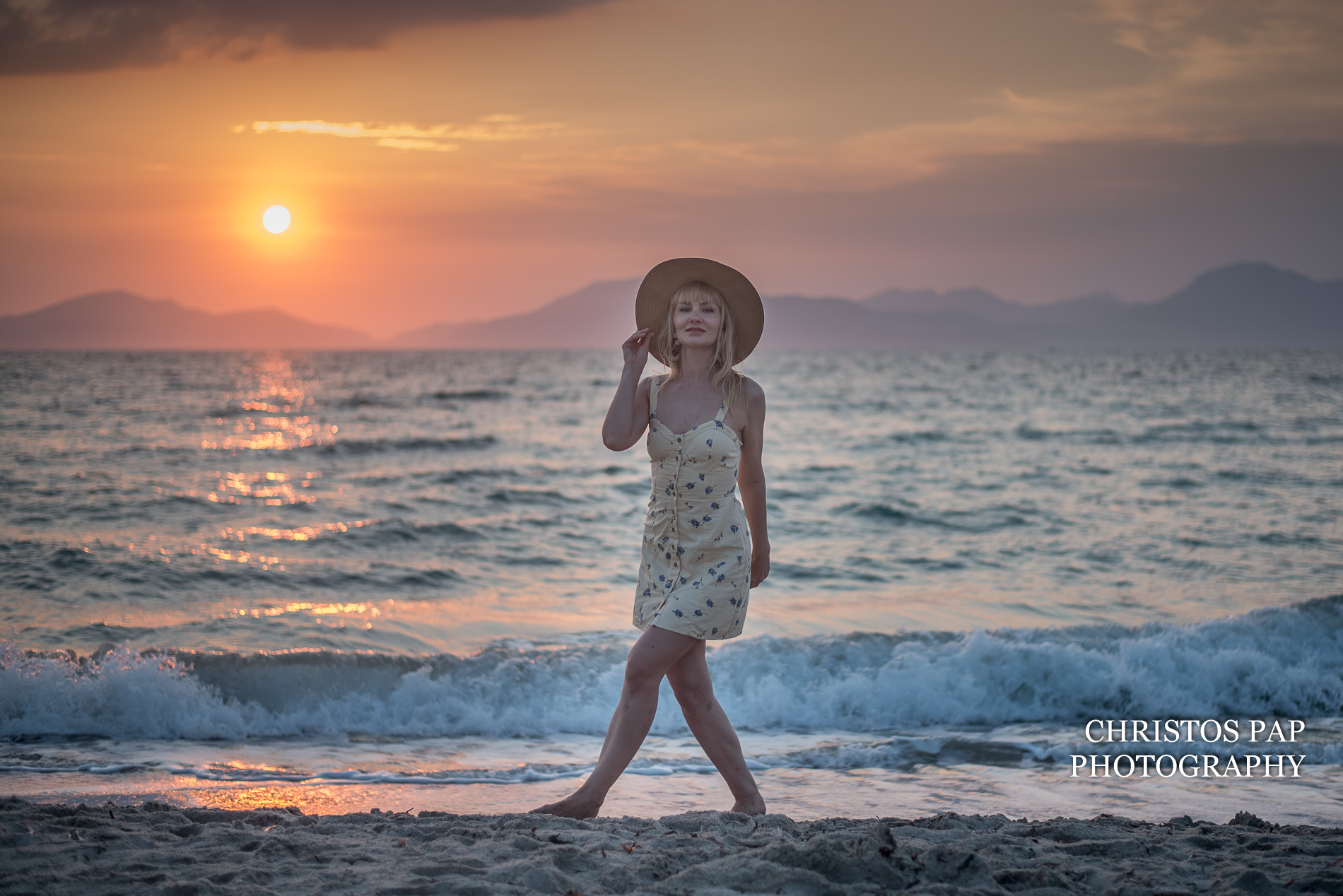 Photo shoot on Kos island