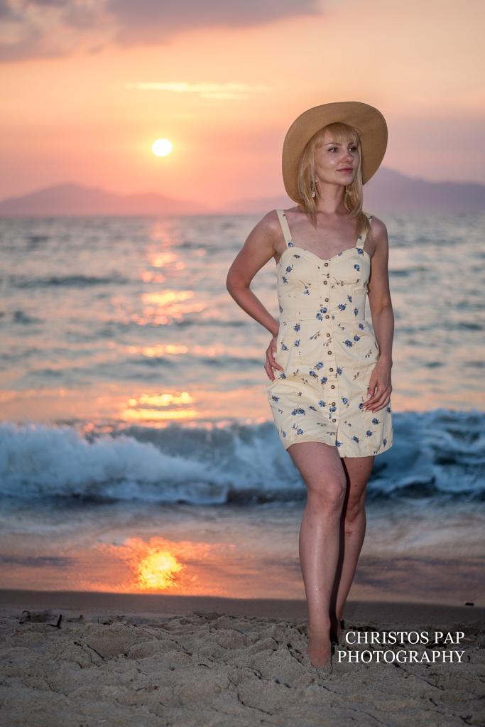 Photo shoot on Kos island