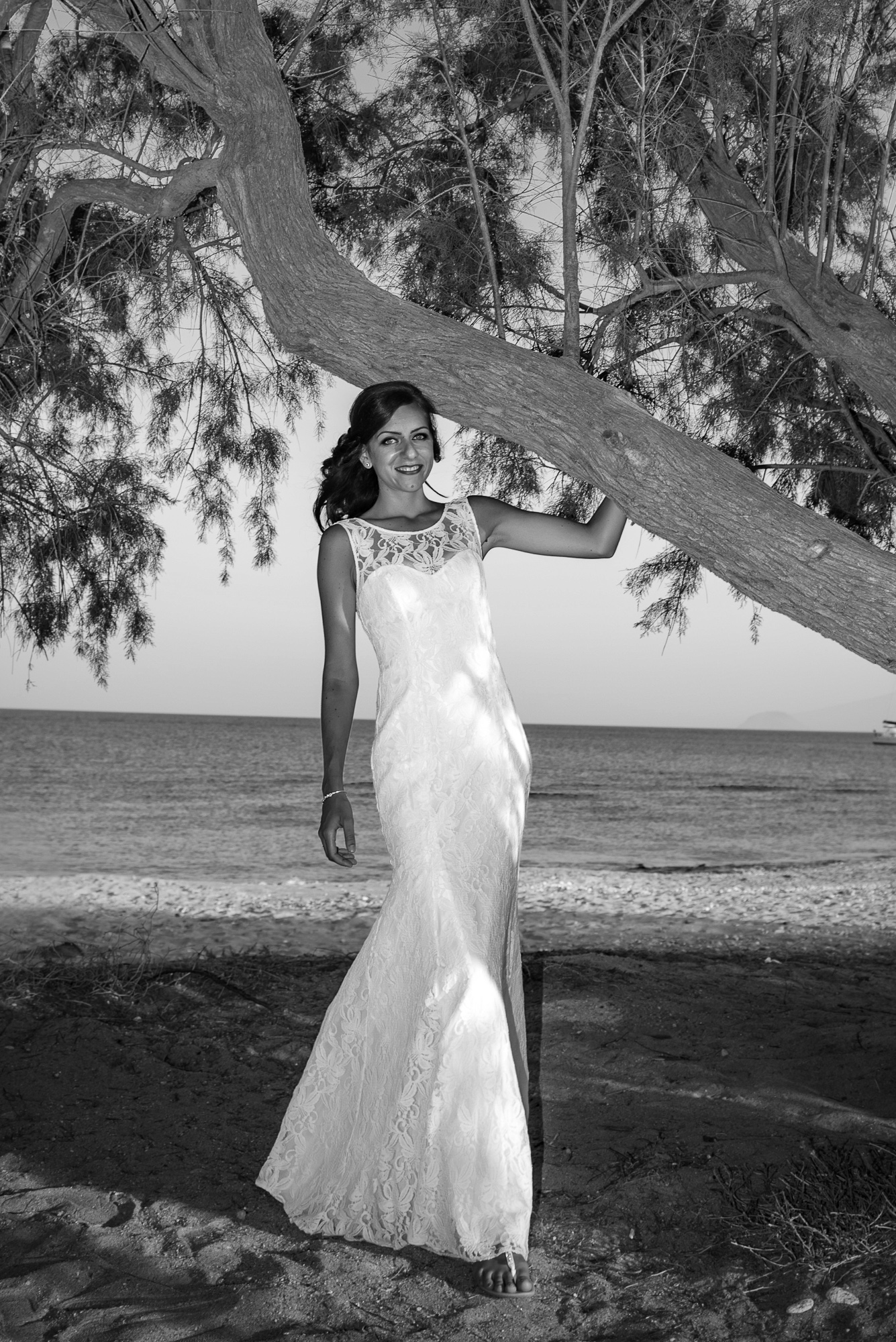 you want to be bride in Greek island